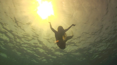 Mermaid in the Sun